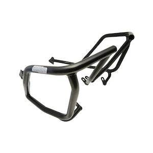 Crash Bars Engine Protectors - KTM LC8 950 Adventure 03-06 Upper Black