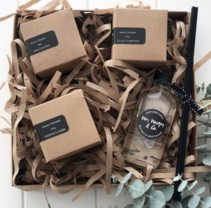 shower steamers & diffuser/ MASCULINE GIFT PACK