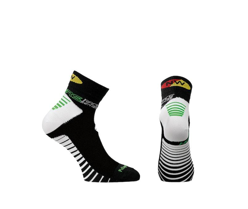 Northwave Speed Socks Black/White, Short Socks
