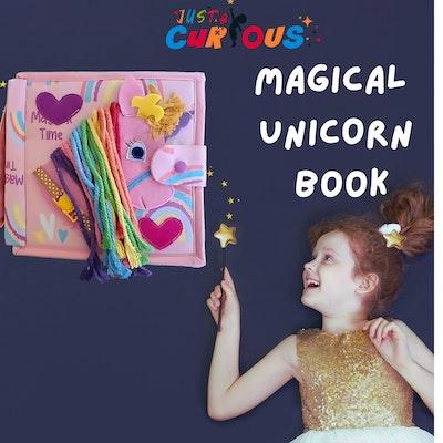 Just Curious Magical Unicorn Book