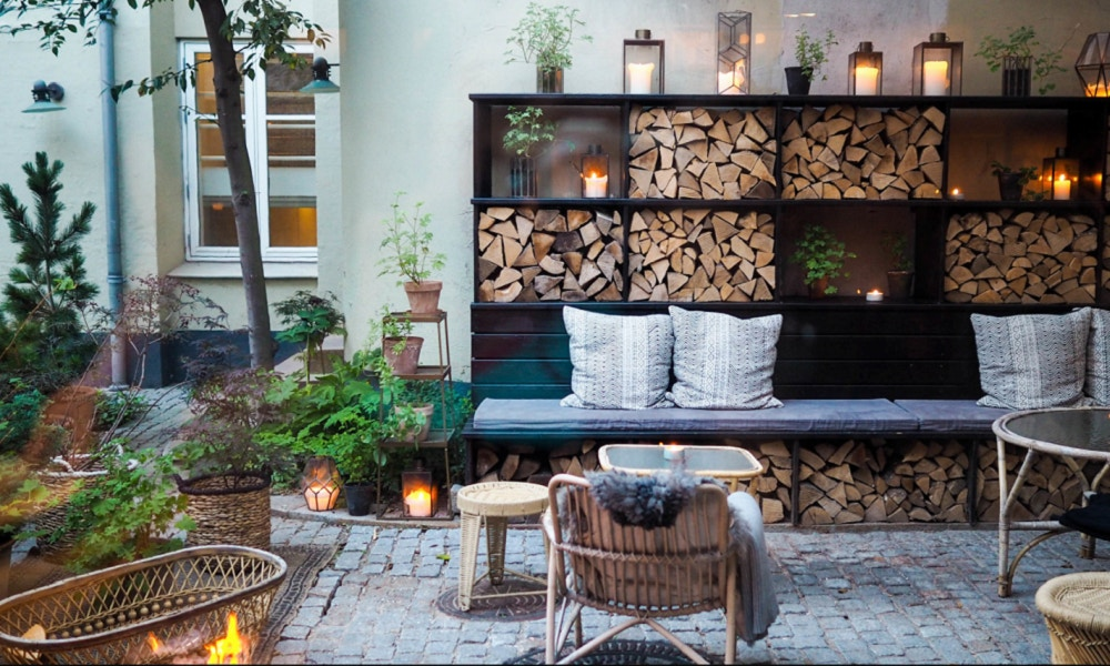 How to Hygge in the Garden