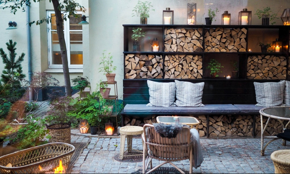 How To Hygge In The Garden Hygge Outdoor