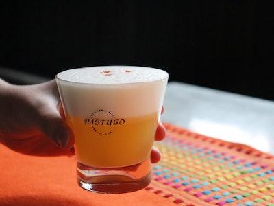 Passionfruit Pisco Sour