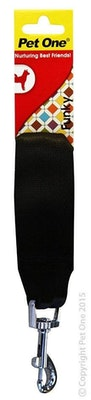 Pet One Seat Belt Attachment 13cm Black