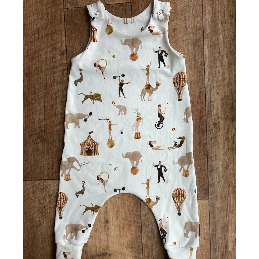 The Baby Man Store Circus Print Romper