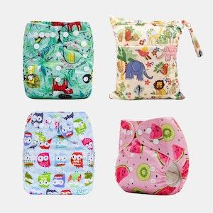 Ekoroo Reusable Cloth Nappy Bundle - SET C
