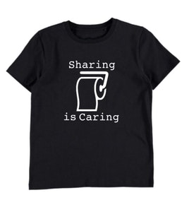 Sharing is Caring Tee - Black