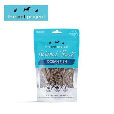 The Pet Project Natural Treats Ocean Fish 80g