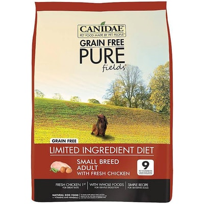 Canidae Adult Small Breed Pure Fields Dry Dog Food Fresh Chicken - 2 Sizes