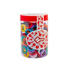 Silca Key Head Identifiers Tub of 200 Mixed Colors