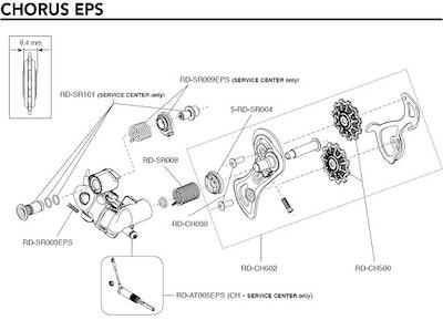 Campagnolo Ath/Cho Eps Rear Der. Servo Motor (Sc)