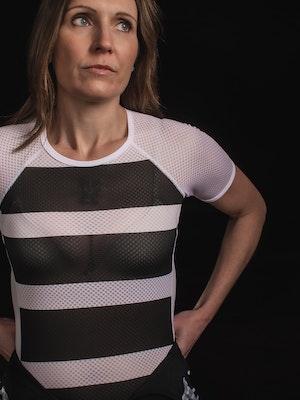 TIC CC Short sleeve base Womens Storm black