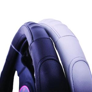 Kentucky Steering Wheel Cover - Black [Leather]
