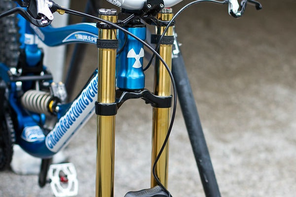 display Mountain Bike Stanchions