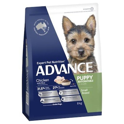 Advance Dry Dog Food Puppy 8kg Small And Toy