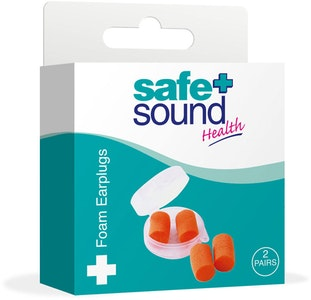 Safe + Sound Foam Earplugs Noise Reducer 2 Pairs