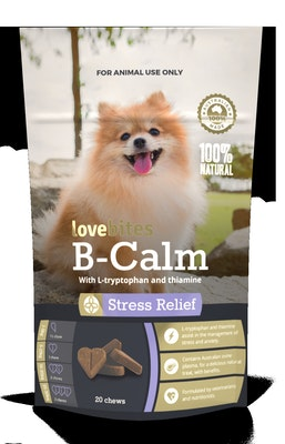 Vetafarm Lovebites B Calm Stress Relief Dog Chew - 2 Sizes