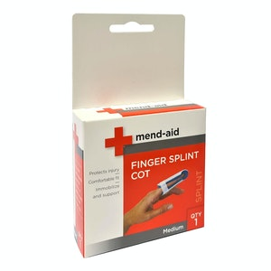 Bemed Finger Splint Cot Medium