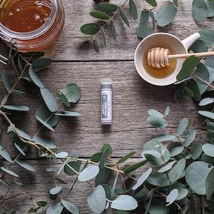 Manuka Honey · Spearmint Lip Balm Tube [LB2]