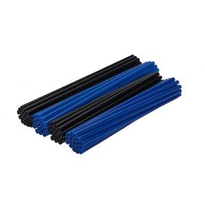 Spoke Wraps - Blue and Black