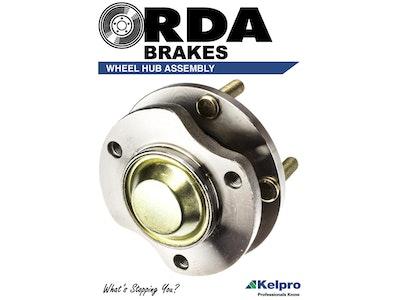 REAR WHEEL BEARING HUB PAIR for Toyota Yaris 1.3L & 1.5L 11/2005-3/2017 KHA4046