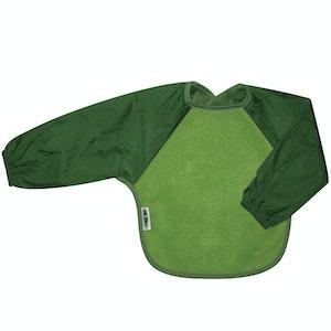 Silly Billyz Small Long Sleeve Fern/Moss Fleece Bib