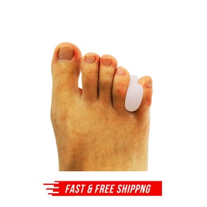 1 Pair Axign Medical Silicone Toe Spacer Straightener Foot Bunion Pain Relief