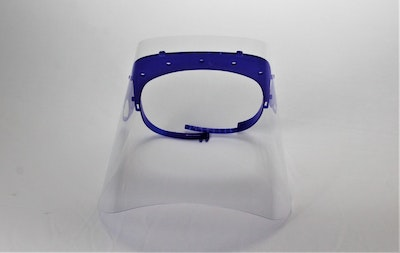 Anti dust and Anti spitting Face shield PPE || Pack of 200 face shields