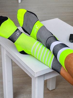 TIC CC bloc socks Black & yellow