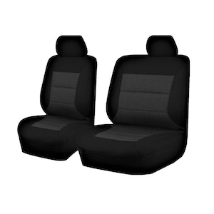 Premium Car Seat Covers For Ford Ranger Px Series 2011-2016 Single Cab | Black
