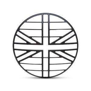 "7"" Metal Union Jack Design Grill"