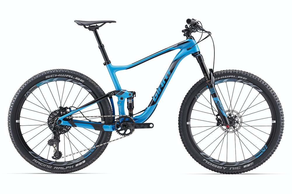 Giant Anthem ADV 0 Blue BikeExchange 2017