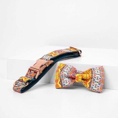 Barker & Bone Bow Tie Dog Collar | Bohemian