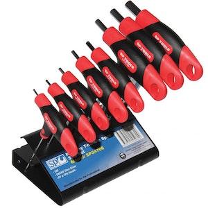 8PC SAE T-Handle Hex Key Set SP34706