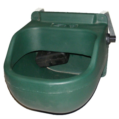 Polymaster 8 litre Stable Drinker with Fence Bracket