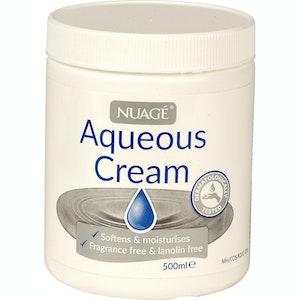 Boutique Medical 500ml NUAGE Moisturising Aqueous Lotion Cream Moisturizer Moisturiser Tub