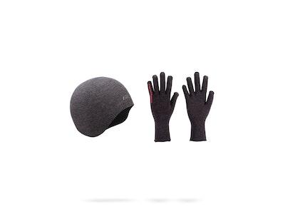 ombishield FIR Winter Hat + Gloves