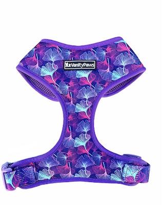 VanityPaws Gingko Leaf - Adjustable Chest Harness