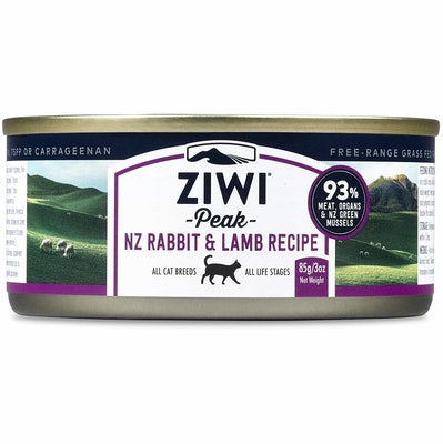 ZiwiPeak Daily Cat Cuisine Rabbit & Lamb Wet Cat Food