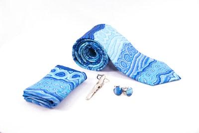 Native Swimwear Australia Pty Ltd Lappi Lappi 100% Silk Tie Set