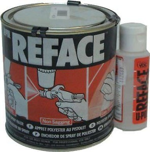Reface Spray Polyester 2.5Lt with Hardener