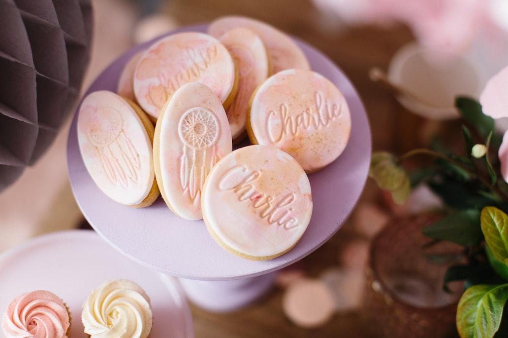 LENZO Boho Birthday Lamanna Patisserie Cookies