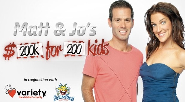 tinitrader.com.au donates $2,000 to Fox FM 200k for 200 kids
