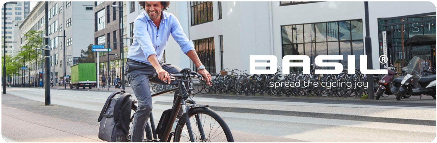 Basil - The 3 advantages of a bicycle backpack