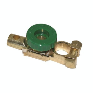 PK Tools Battery Terminal Isolator Cut Off Kill Switch Solid Brass Fitting