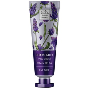 The Australian Cosmetics Company Goats Milk Hand Cream Lavender 100ml