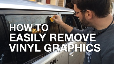 How To Remove Stickers From A Car