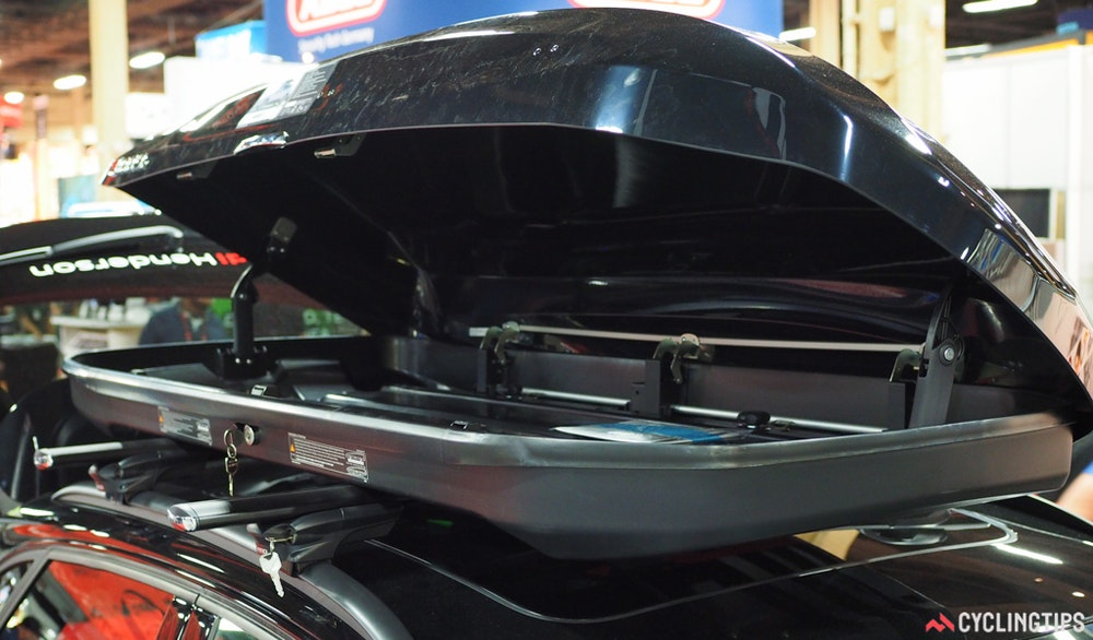 Inno racks rooftop cargo box InterBike 2016 CyclingTips 43096