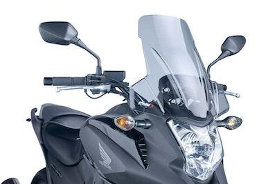 Puig Touring Screen To Suit Honda NC700X 2012 - 2013 (Smoke)