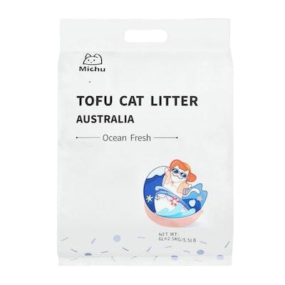 Furrytail Michu Natural Clumping Tofu Cat Litter 2.5kg/6L